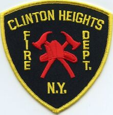 CLINTON HEIGHTS NEW YORK NY FIRE PATCH
