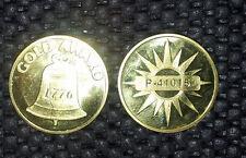 SUPERIOR Gold Award Token for Antique Slot Machine SUPERIOR Gold Award Token