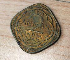 1943 India 2 Annas