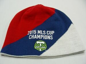 PORTLAND TIMBERS - MLS CUP 2015 CHAMPIONS - ADIDAS - STOCKING CAP BEANIE HAT!