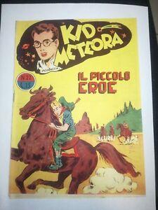 Kid Meteor N.22 Die Kleiner Held Tomasina 1949 Augusto Pall
