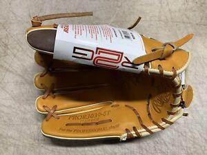 "Rawlings (Heart Of The Hide/RTG) PROR3039-6T 12 3/4"" Baseball Glove (NWT)"