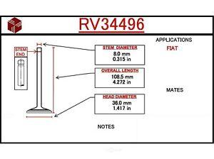 Engine Intake Valve-Coupe ITM RV34496