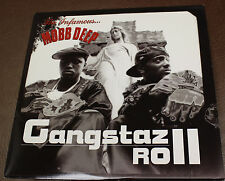 THE INFAMOUS MOBB DEEP GANGSTZ ROLL JIVE 2003 VINYL  promo NM/EX