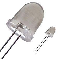 10  LED 10 mm ROSSO alta luminosità - 5K mcd