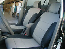 HONDA CIVIC 2003-2005  IGGEE S.LEATHER CUSTOM FIT SEAT COVER 13COLORS AVAILABLE