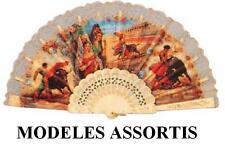 éventail espagnol élégant déguisement flamenco andalou ANDALOUSE BLANC DECORE