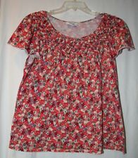 Style & Co. Womens Plus Size Chest Size 44 Inches Sleeveless Floral Top Shirt