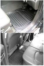 Heavy Duty natural rubber floor mats 5pc Nissan Navara Aventura D40