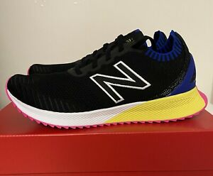 New Balance Fuel Cell Echo Black Yellow Pink Mens Sz 10 D MFCECSB Running Shoes