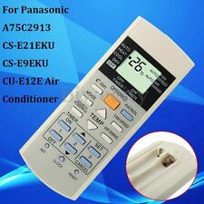 Remote Control For Panasonic A75C2913 CS-E21EKU CS-E9EKU CU-E12E Air Conditioner