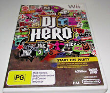 DJ Hero Nintendo Wii PAL *Complete* Wii U Compatible