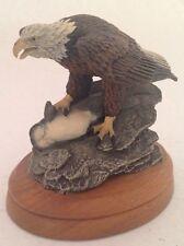 "Neil Deaton Audubon Bald Eagle 4"" 1977 Signed  No. 1960 Creative World"