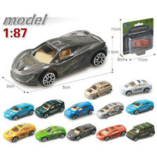 1:87 12 Colors Kids Children Mini Car Model Toy Wheels Can Move Utility Vehicle