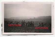 WK2 Foto Waldwisse Saar Moselle Panzersperren Grenze Westwall Maginot Linie 308