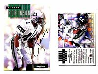 Eugene Robinson Signed 1994 SkyBox Impact #243 Card Seattle Seahawks Autograph