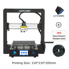"""ANYCUBIC Upgraded Full Metal Mega-S 3D Printer with Ultrabase Heatbed 3.5"""" TFT"""