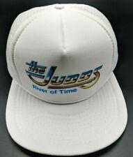 THE JUDDS / RIVER OF TIME 1980s vintage white adjustable cap / hat