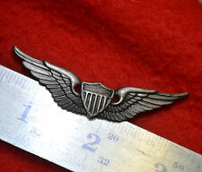 KILLER ELITE NAM ERA US ARMY HELICOPTER AVIATOR WING BADGE (repo, post pin type)
