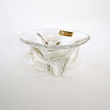 Magnor Contemporary Style Crystal Candy Bowl Norway