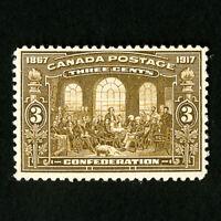 Canada Stamps # 135 VF OG LH Scott Value $47.50