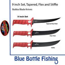 Bubba Blade - 9 inch Set - Stiffie + Flex Fillet + Flex Fillet Tapered