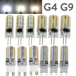 Mini LED Light Bulb G4 G9 Silicone Crystal  3W 5W 6W 10W 3014 SMD 110V 220V Lamp