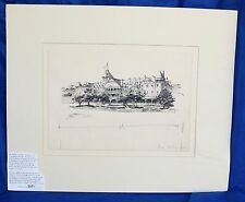 Illustration for a Santa Fe RR Promotional Pamphlet Paso Robles Hotel 1901 Jaren