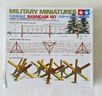 Tamiya 1/35 Barricade Set model kit #35027 - Brand New