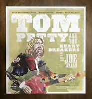 Tom Petty and The Heartbreakers Joe Walsh Concert Lithograph Poster Mixon Rare