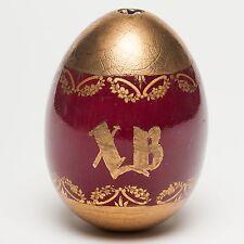 Russian Porcelain Easter Egg, 19th century