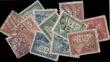 POLOGNE / POLAND - 1919 Issues - 12 stamps Mint & Used, mixed condition