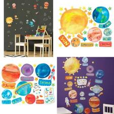 Wallies Vinyl Wall Decals, Educational Solar System Stickers for Kid's...
