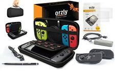 Switch Accessories, Orzly Ultimate Pack for Nintendo Switch (Bundle includes: Gl