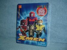 DARKTIDE DVD X Men Wolverine Cyclops Magneto Juggernaut Mini Mates 2005 Marvel