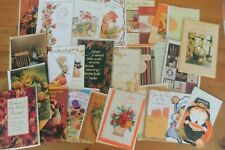 Lot of 28 THANKSGIVING Greeting Cards: Family, Across the Miles, Kids +