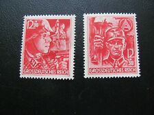 Germany 1945 Sc# B292-3 Soldier Set Mnh $75