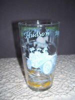 1909 Hudson Car Jelly Glass with Horses on one side