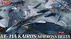 Hasegawa Macross Series Macross delta VF-31A Kairos 1/72 scale plastic model 658