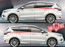 Custom Racing Decal Sticker Side Door Stripe Stickers For for Ford KUGA
