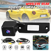 Car Wireless Reversing Rear View Camera For VW Passat Golf Caddy Touran Skoda