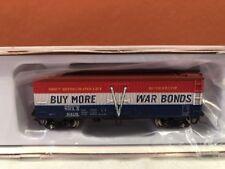 N SCALE RAPIDO TRAINS 521901-4 GARX 37' MEAT REEFER SWIFT (WAR BONDS) RD#6310