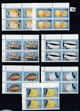 MT 4X MALDIVES - MNH - FISH - MARINE - NATURE