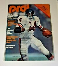 1977 NFL PRO FOOTBALL PROGRAM KANSAS CITY CHIEFS VS DENVER BRONCOS RARE