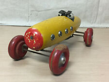 TED TOY-LER WOODEN PULL TOY RACER