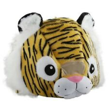 NEW Wild & Soft Tiger Plush Animal Head Mascot Costume Kids Party book week