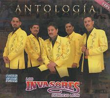 CD - Los Invasores De Nuevo Leon NEW Antologia 5 CD's  FAST SHIPPING !
