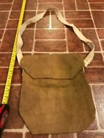 U.S. Army World War II WWII 1944 Burlap Gas Mask Carry Case FREE SHIPPING