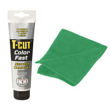 T Cut SILVER Colour Fast Car Scratch Remover Abrasive Compound Microfibre Cloth