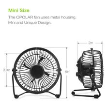 METAL Mini Portable USB Fan Quiet Desktop Desk Silent Laptop PC Cooler Cooling